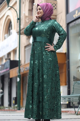 hijab syar'i untuk wanita gemuk