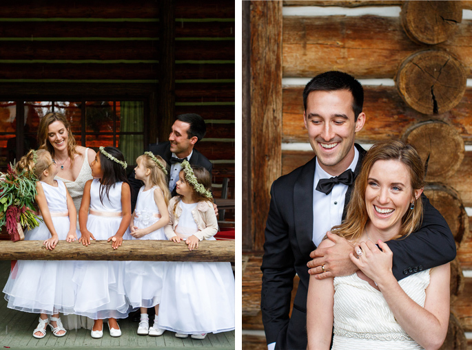 Montana Flower Girls / Photography: Brooke Peterson Photography / Wedding Coordinator: Courtney of 114-West / Venue: Kootenai Lodge / Bride's Bouquet: Mum's Flowers / Bride's Gown: J.Crew / Groom's Tux: J.Crew / Makeup Artist: Britlee of Envy Salon & Spa /