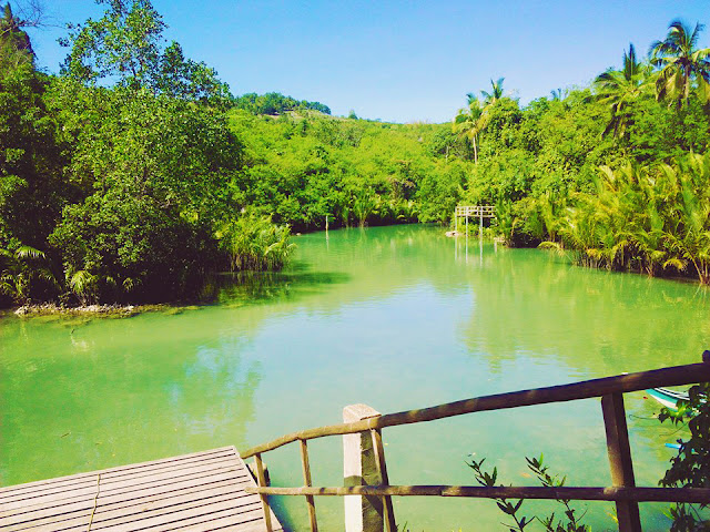 green lake in the philippines