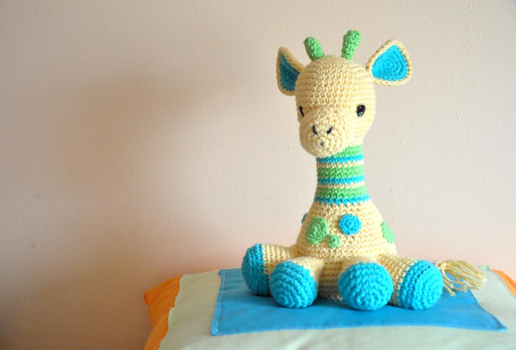 Jirafa Amigurumi ⭐️ TUTORIAL MUY FÁCIL ▷ Crochet Fácil | 683x1007