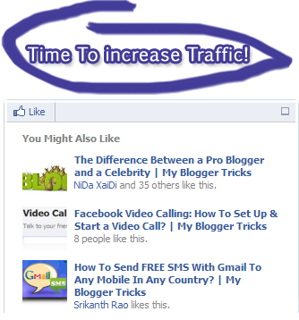 facebook recommendation for blogger