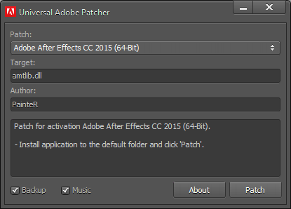 Adobe Universal Patch Crack 2015 2016 2017 2018 2019 - Get PC Software