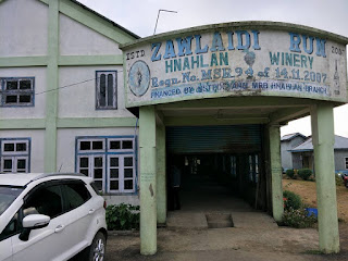 Champhai grape wine zawlaidi