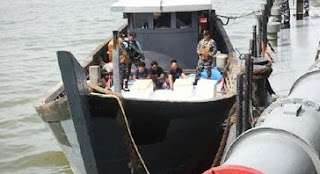 TNI AL Berhasil Gagalkan Penyelundupan Ribuan Ekor Belangkas
