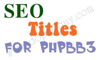 SEO titles phpBB