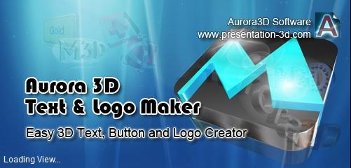 🔥 Aurora 3D Text & Logo Maker KEYGEN+LİNK