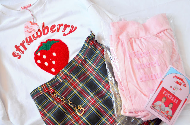 Chuu strawberry milk