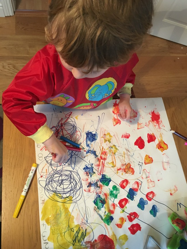 our-weekly-journal-6-feb-2017-toddler-painting