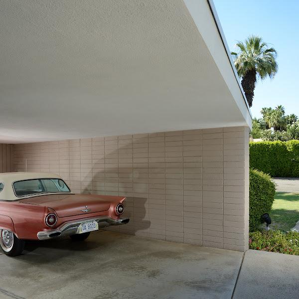Mid-century parking lots by Dan Chavkin