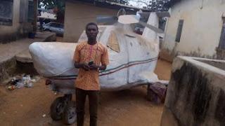 locally built chopper