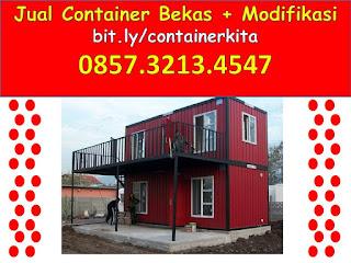 0857.3213.4547 Jual container office di Jawa Timur