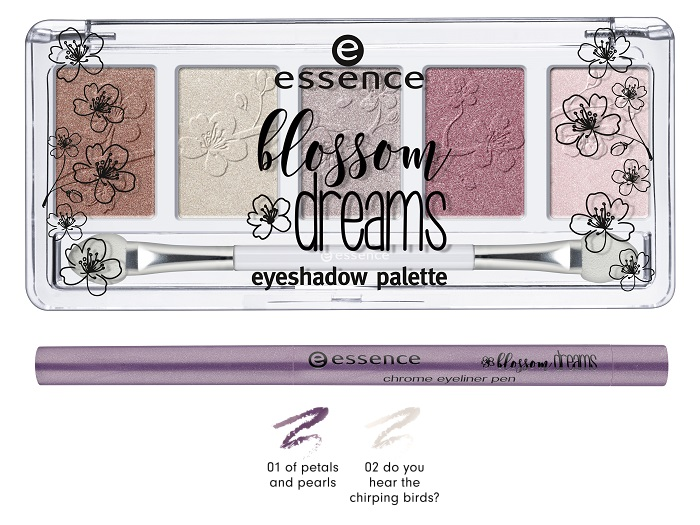 essence blossom dreams eyeshadow palette
