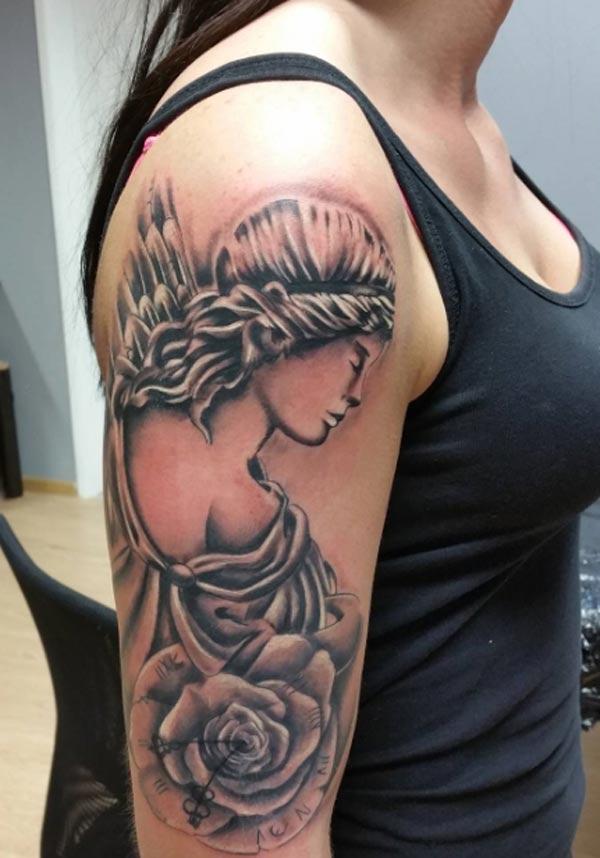 f7c898bc7f663 Tattoos Design Ideas: 30 Most Beautiful Angel Tattoo Designs idea ...