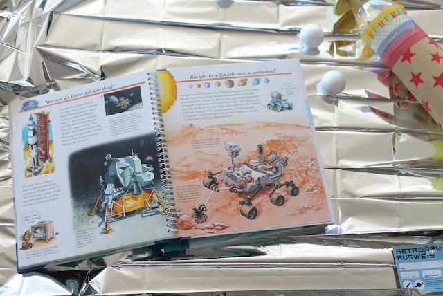 Mondlandung Ravensburger Buchtipps Weltraum Astronauten Entdecker Kindergeburtstag Party Verlosung Jules kleines Freudenhaus