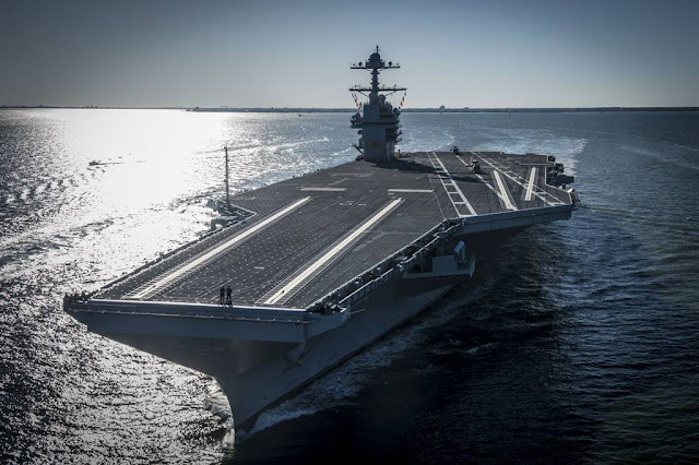 US NAVY COMMISSIONED THE USS GERALD R. FORD AIRCRAFT CARRIER
