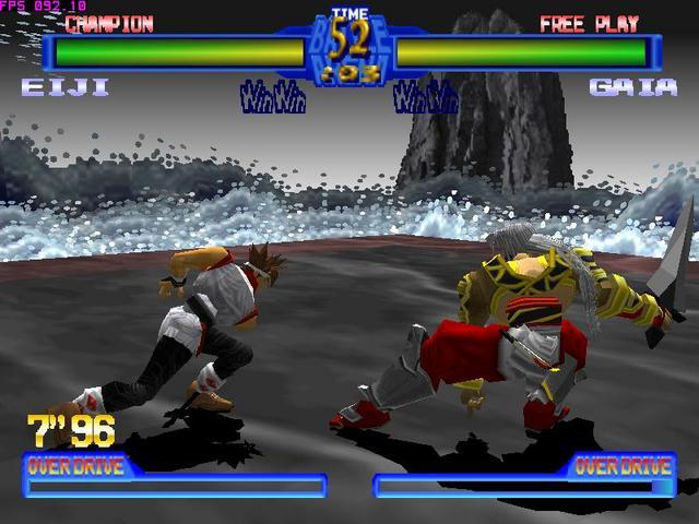 Best PSP games download: Battle Arena Toshinden 4 (psx-psp)
