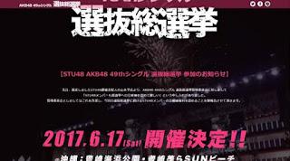 stu48 general election sousenkyo akb48 senbatsu