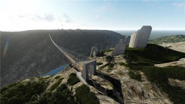 Η δεύτερη μεγαλύτερη πεζογέφυρα στην Ευρώπη θα κατασκευαστεί στην Κροατία