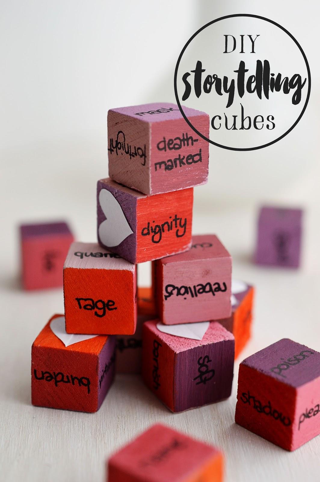 DIY Story Cubes | Motte's Blog