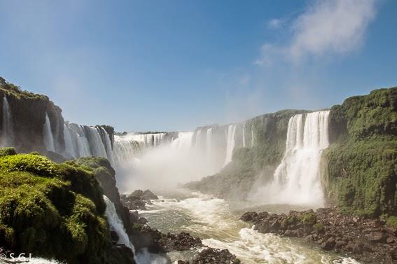 Cataratas de Iguazu en Argentina y Brasil