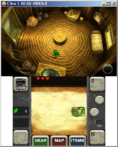 Nintendo3DS Emulator Citra to run The Legend of Zelda