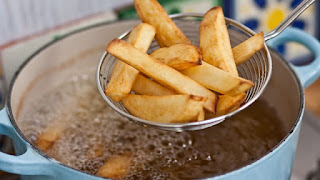 Fried food bad for your barin