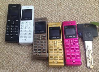 ponsel terkecil di dunia