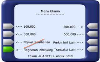 Cara Daftar Internet Banking Bank Mandiri Lengkap Dengan Gambar