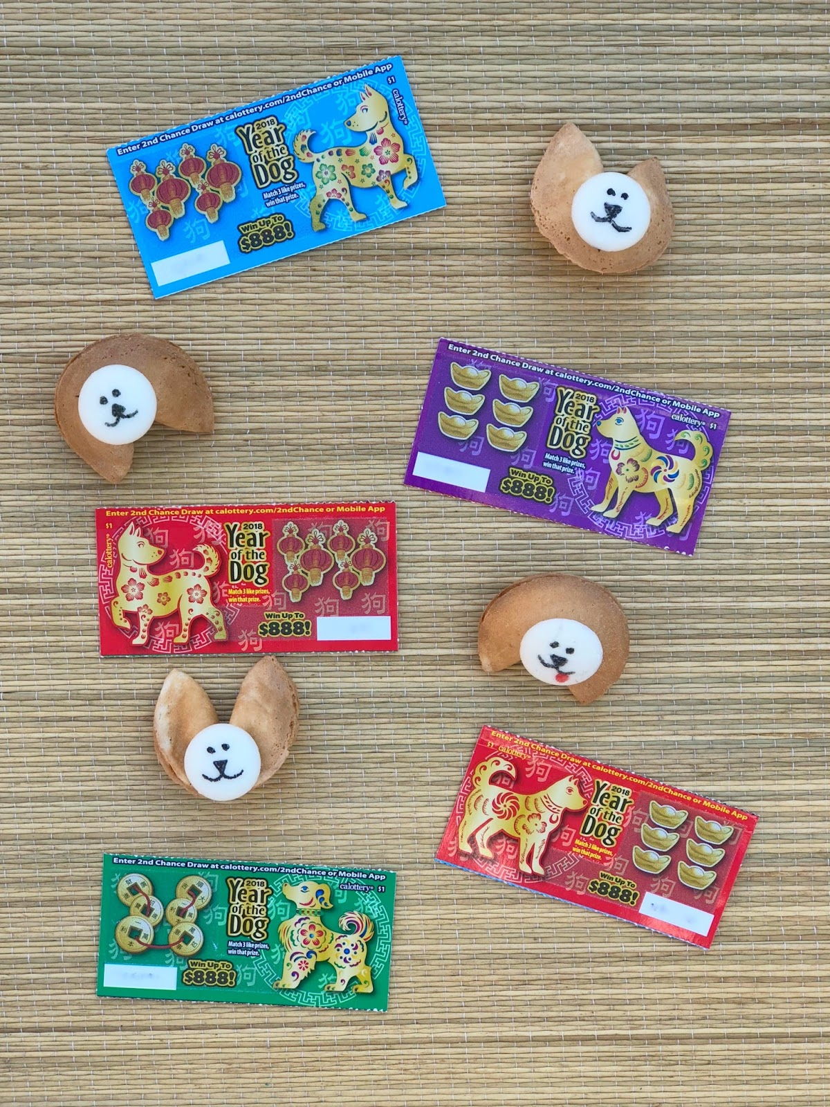 Jac o' lyn Murphy: Chinese New Year Lucky Dog Cookies