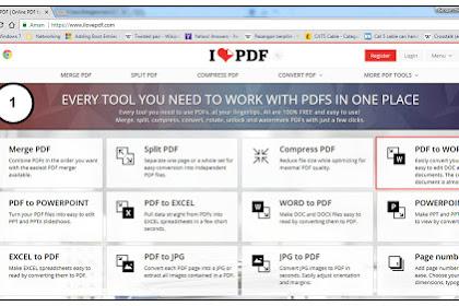 Cara Mudah Convert PDF ke Word Online