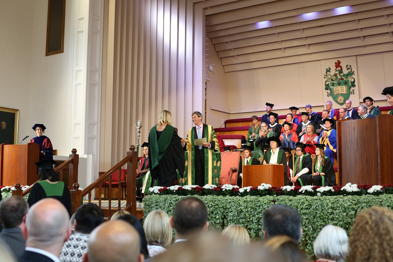graduating from leeds university