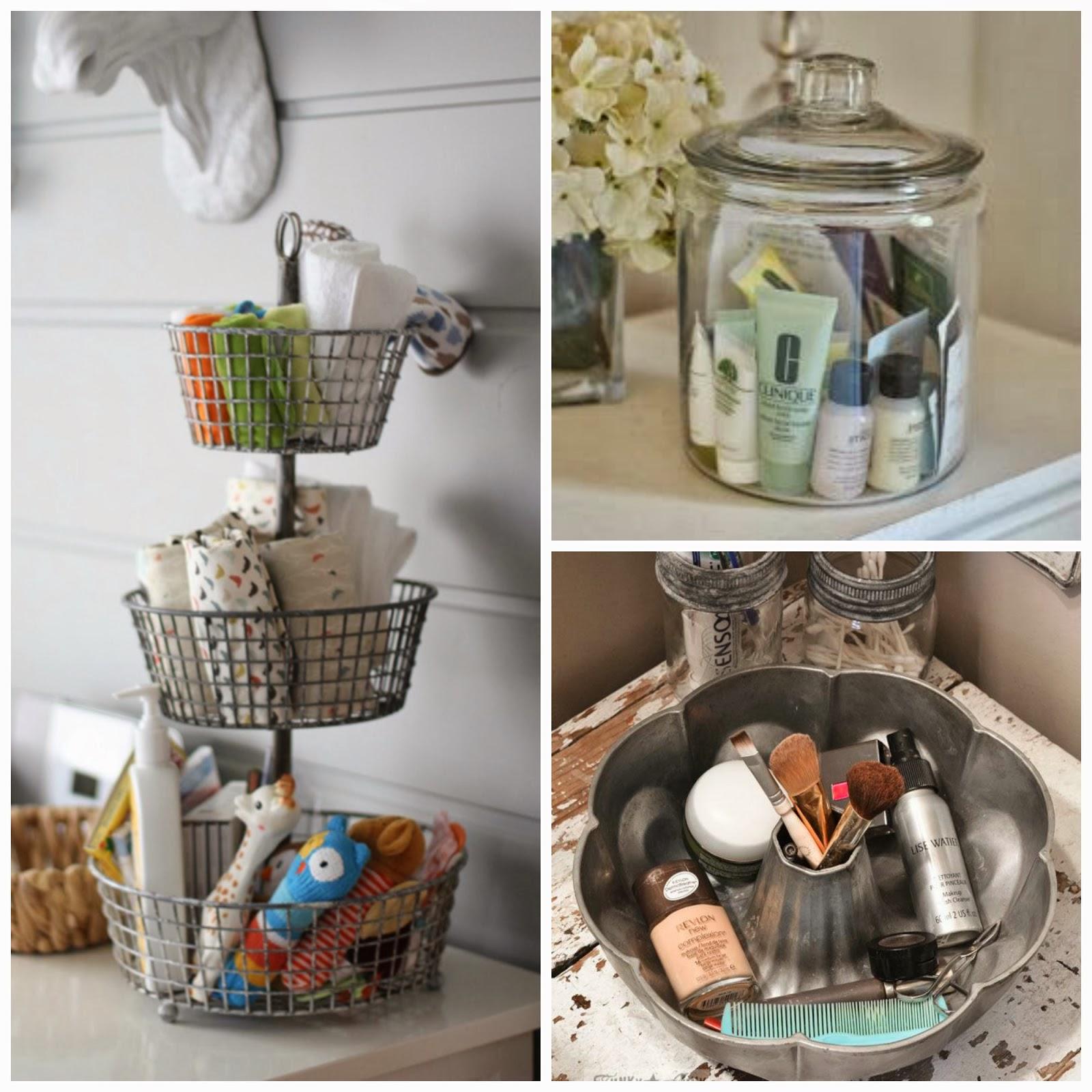 Organizing Bathroom Shelves: Craftivity Designs: 8-Week Organizing Challenge // Bathroom