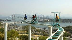 Roller Coaster Sepeda di Jepang