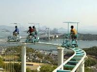 Wisata Ekstrim Roller Coaster Sepeda di Jepang Bakal Menguji Keberanian Anda