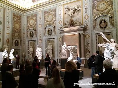 Mostra Bernini Galleria Borghese, guia brasileira em Roma