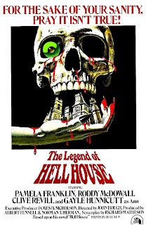 The legend of Hell House, poster de esta magnifica película dirigida por John Hough