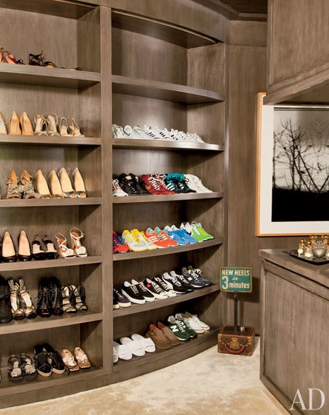 Ellen Degeneres  luxury fantasy closet