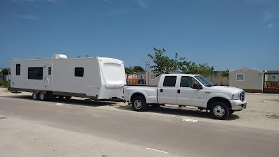 5th wheel and American caravans delivered throughout Europe