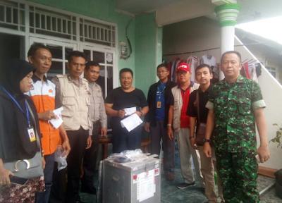 Jelang Pemilihan, PPS Nusantara Permai Sukabumi Distribusikan Logistik