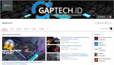 Channel YouTube Berkualitas Tentang Teknologi  5 Channel YouTube Berkualitas Tentang Teknologi