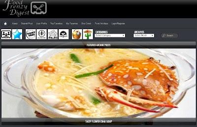 tasty flower crab soup recipe food frenzy