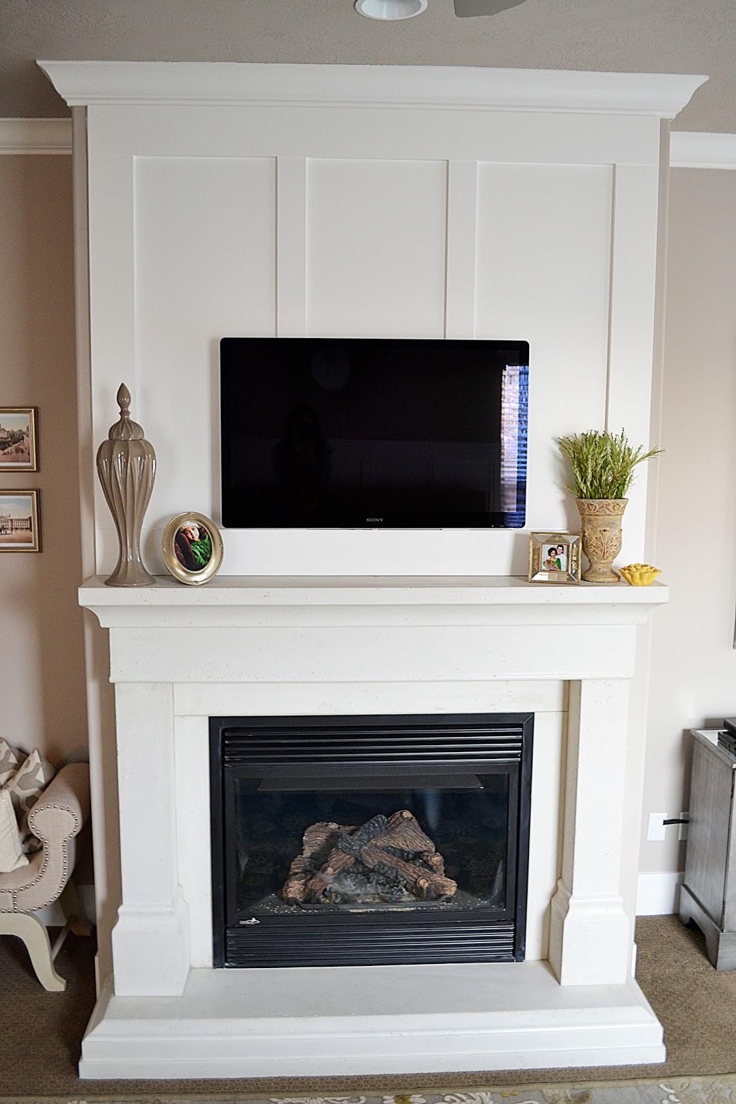 sita montgomery interiors master bedroom fireplace makeover reveal. Black Bedroom Furniture Sets. Home Design Ideas