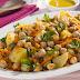 SEGUNDA SEM CARNE - Salada de Grão-de-Bico, Cenoura e Batata (vegana)