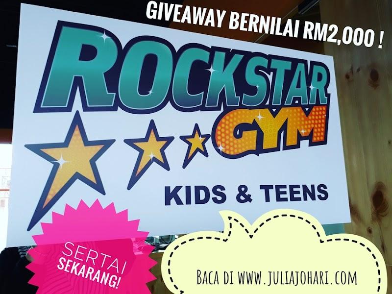 Pengumuman Dua Pemenang Bertuah Giveaway RockStar Gym Malaysia ! Jeng Jeng Jeng...