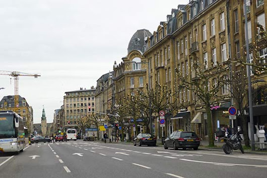 Luxembourg Capital - Contrast between modernity and history