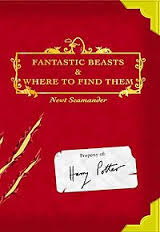 Harry Potter's textbook Fantastic Beasts and Where to Find Them -JK Rowling