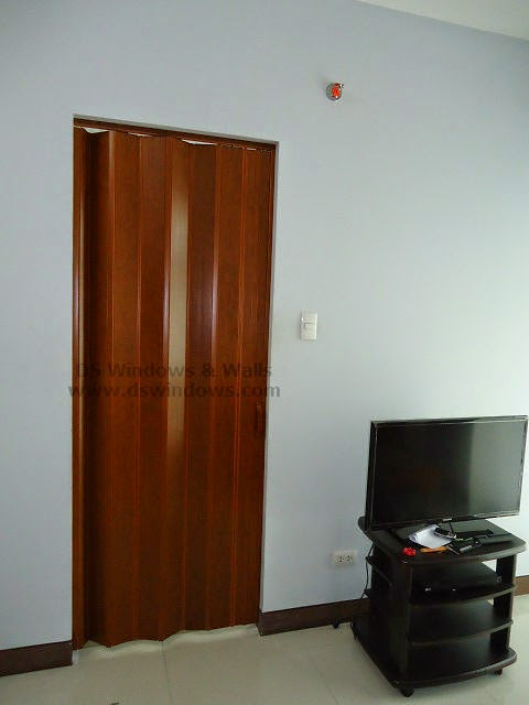 PVC Accordion Door as Space Saving Door - Pasig City, Metro Manila