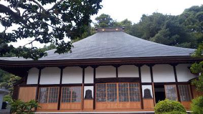 八王子の斟珠寺 本堂