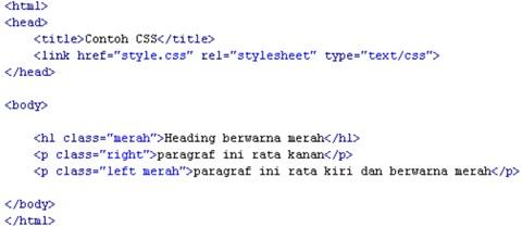 Pengertian dari CSS, Fungsi CSS Beserta Contoh nya 6_