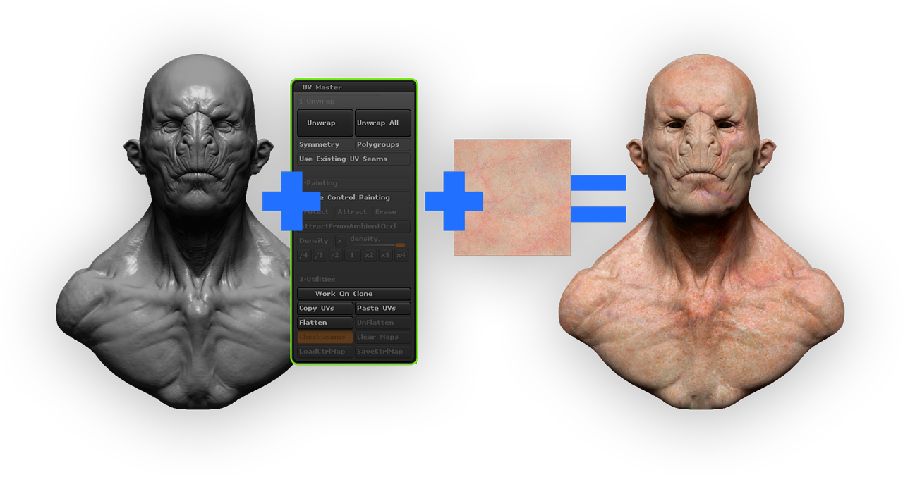 Free download tutorial Mastering The UV Master in Zbrush